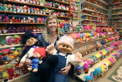1990s Troll Dolls World record troll collector: