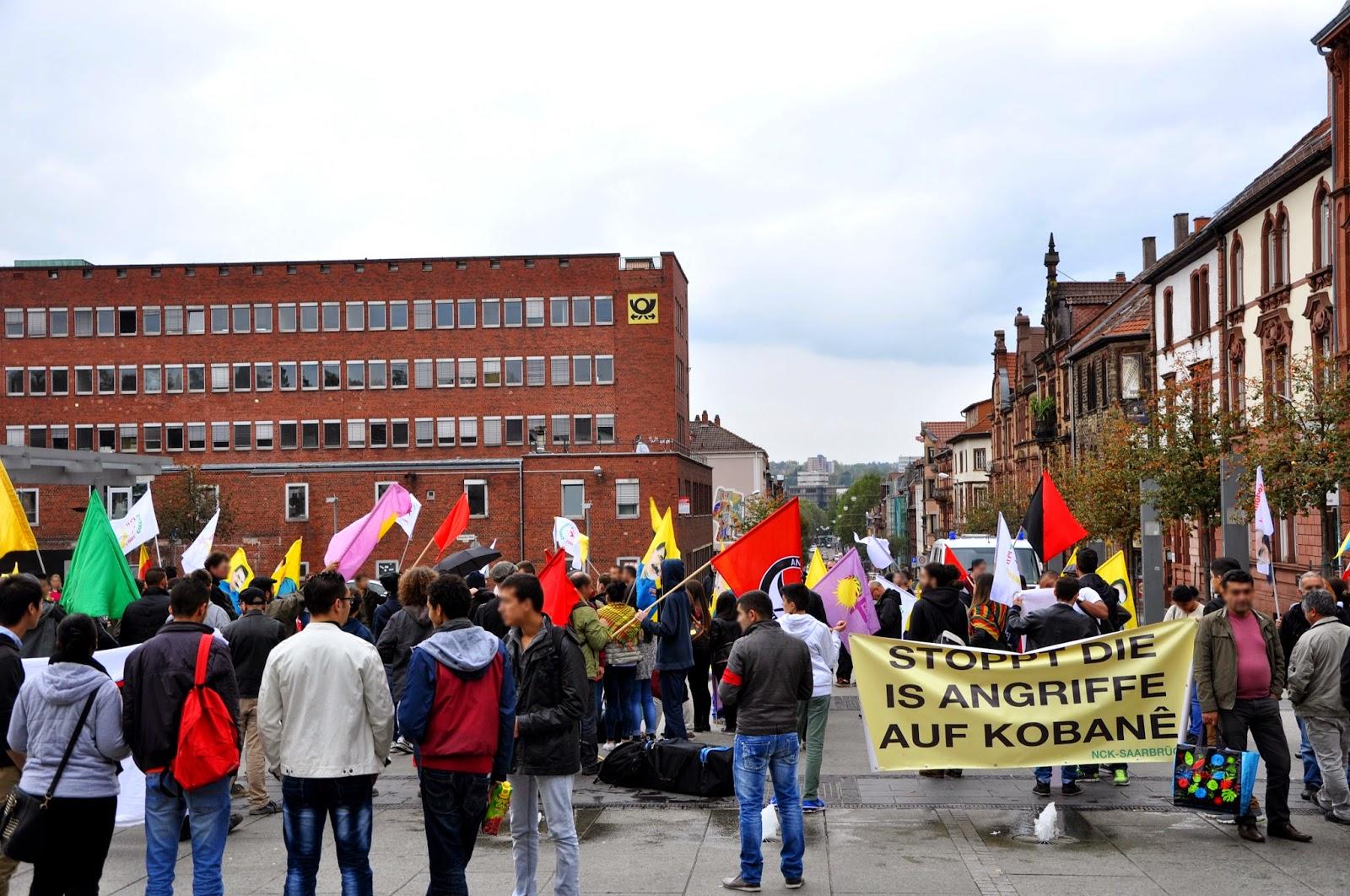 Solidarität mir Rojava