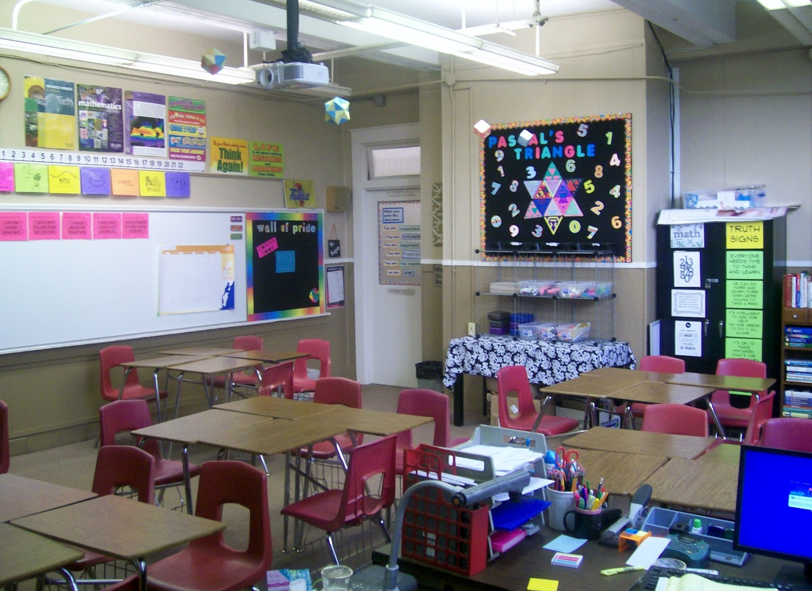 Classroom Decorations Middle School ~ Ideas for middle school math classroom decorating