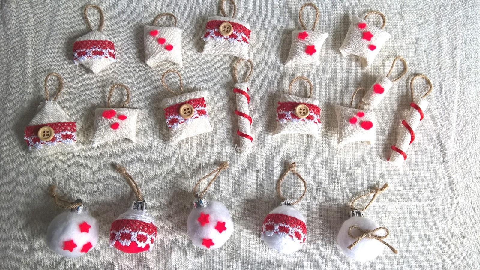 Nel beautycase di audrey decorazioni natalizie fai da te for Decorazioni natalizie fai da te