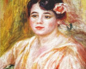 "Picture of ""Portrait of Adele Besson"" by Renoir, 1918"
