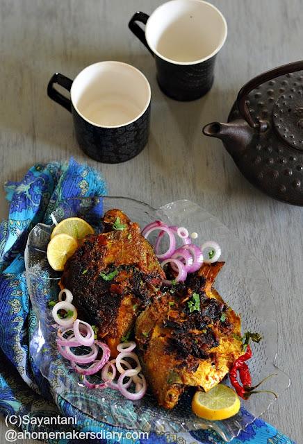 Pomfret Tawa Masala (spice coated pomfret pan roast)
