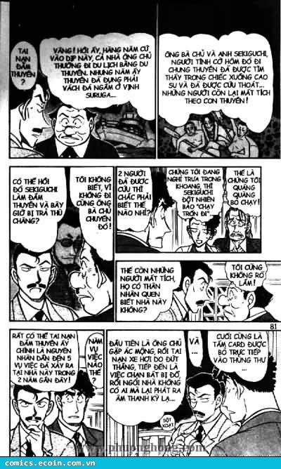 Detective Conan - Thám Tử Lừng Danh Conan chap 495 page 7 - IZTruyenTranh.com
