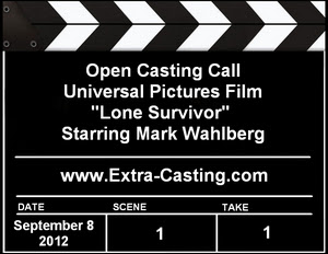 Universal Pictures Lone Survivor Open Casting Call