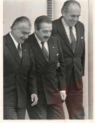 presidentes de Argentina, Brasil y Uruguay