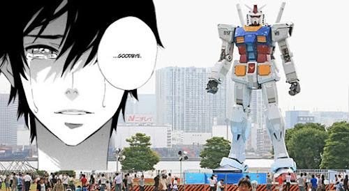 Enquanto isso no Japão - Toquio tem um Gundam em tamanho real