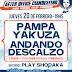 Pampa Yakuza y Andando Descalzo vuelven a fusionar shows