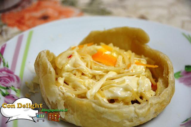 פאי נודלס noodles pot pie