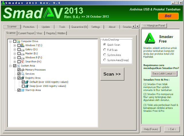 Smadav 2013 Rev. 9.4 Final Update | Free Download Software Terbaru
