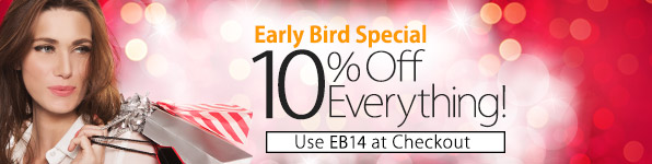 Early Bird Christmas Sale at MyNameNecklace