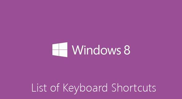 Tombol Perintah Pintas (Shortcut) Pada Keyboard Windows 8