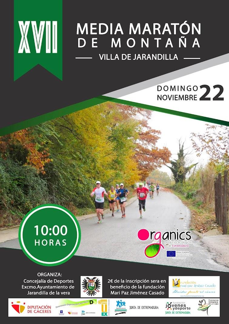 "XVII Media Maratón de Montaña ""Villa de Jarandilla"""