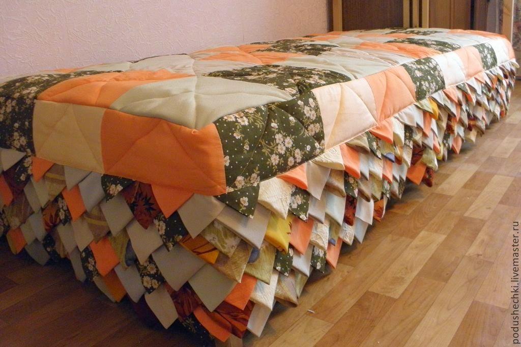 Пэчворк-покрывало на кровать своими руками