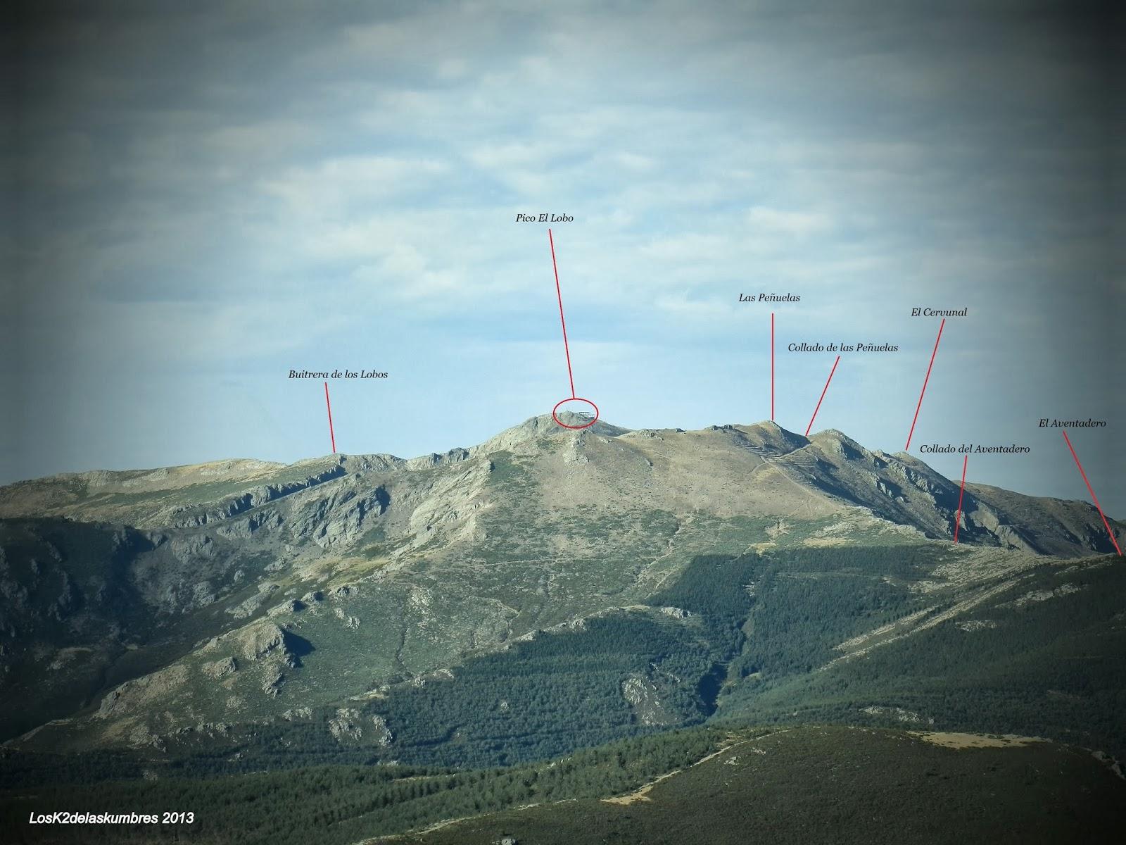 Hacia Pico de la Buitrera