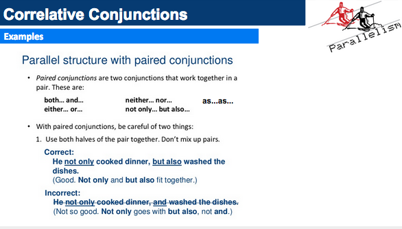 Mr Buxton 7th Grade RLA November 2014 – Correlative Conjunctions Worksheet