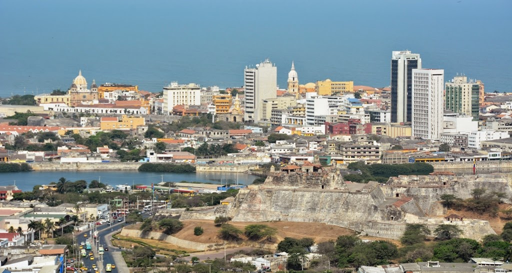 Cartagena Popa Hill old town