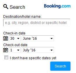 Best Hotels via Booking.com
