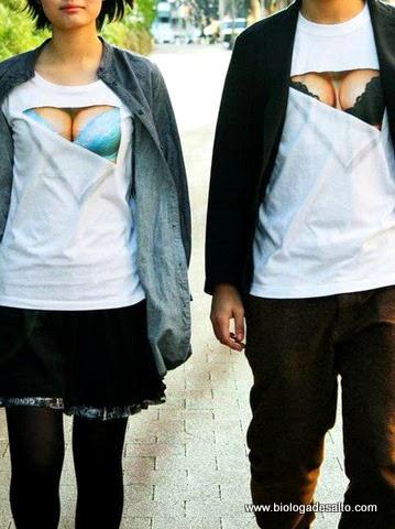 Bra T-shirt de Takayuki Fukuzawa