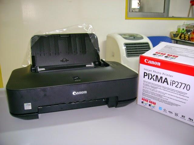 Cara reset Printer Canon IP 2770 / IP 2700