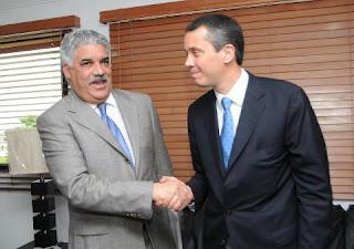 Vargas y Jorge Mera hablaron de agenda