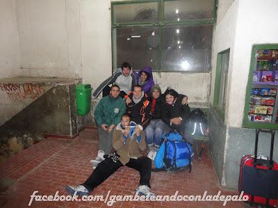 Foto grupal en La Quiaca - Gambeteandoconladepalo