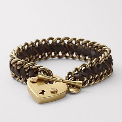 Fashion Jewelry Show Fossil Heart Bracelets With A Heart