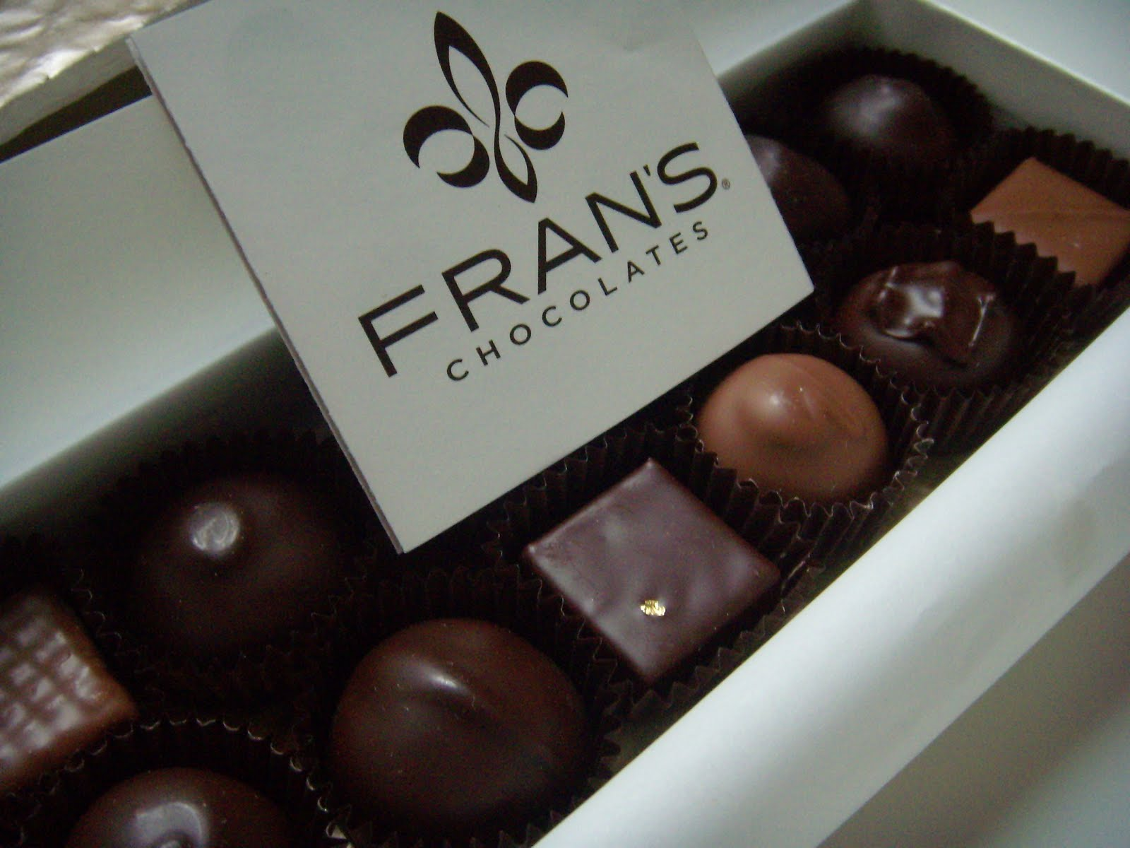 Never Turn Down A Cupcake: Fran's Chocolates, Seattle