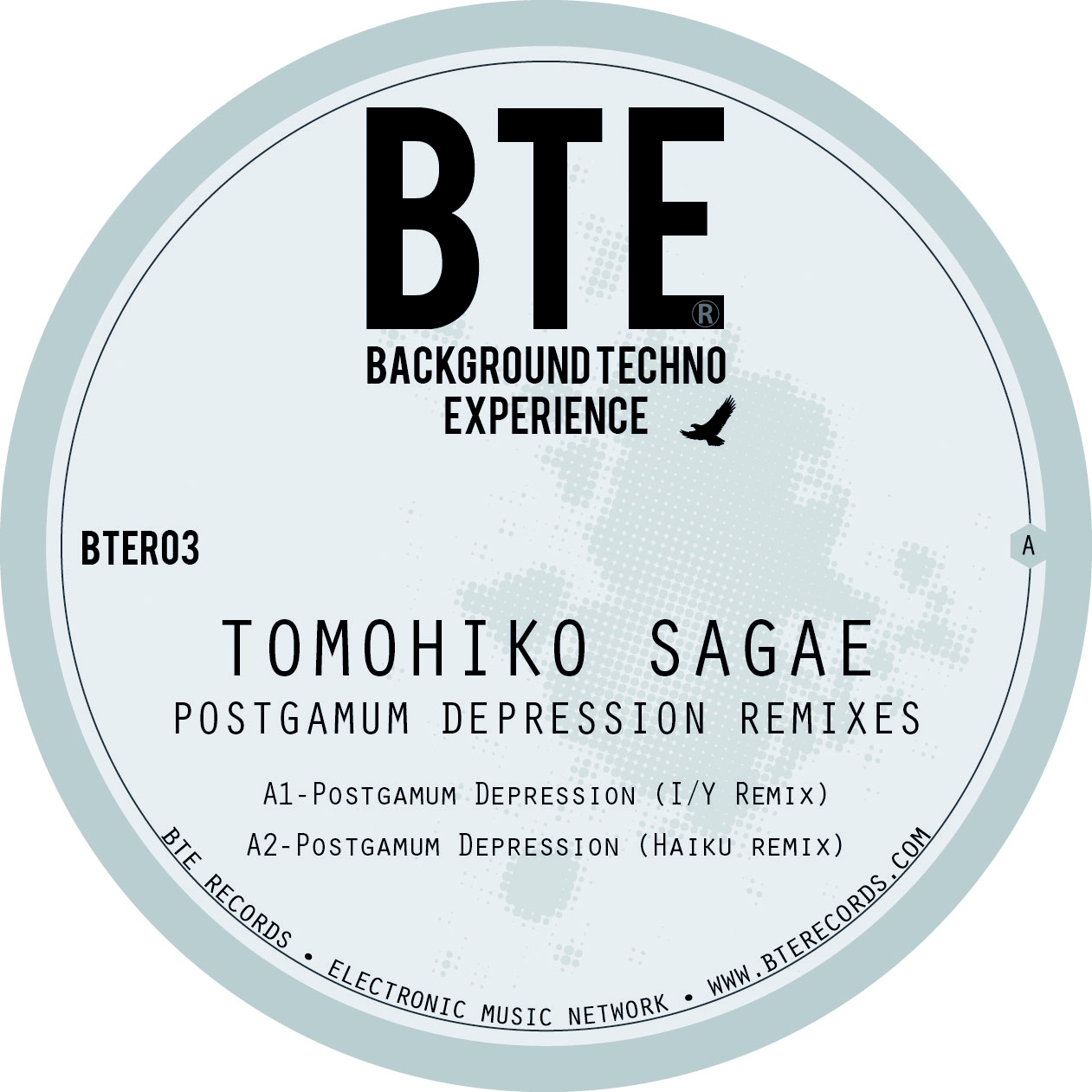 BTE Records: BTER03 - TOMOHIKO SAGAE REMIXES