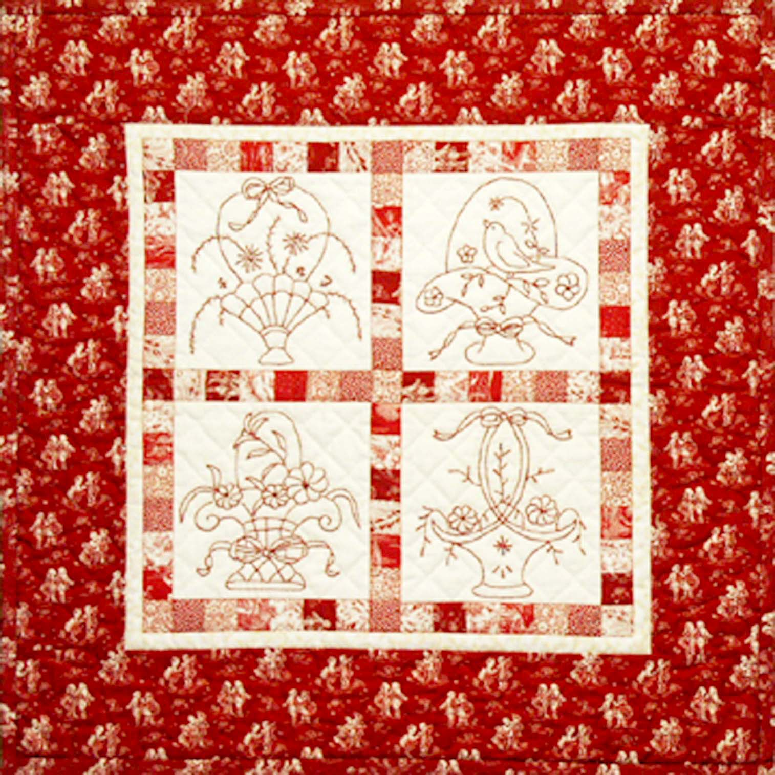 Quilt Patterns by Jean Boyd: Half Price Redwork Patterns!