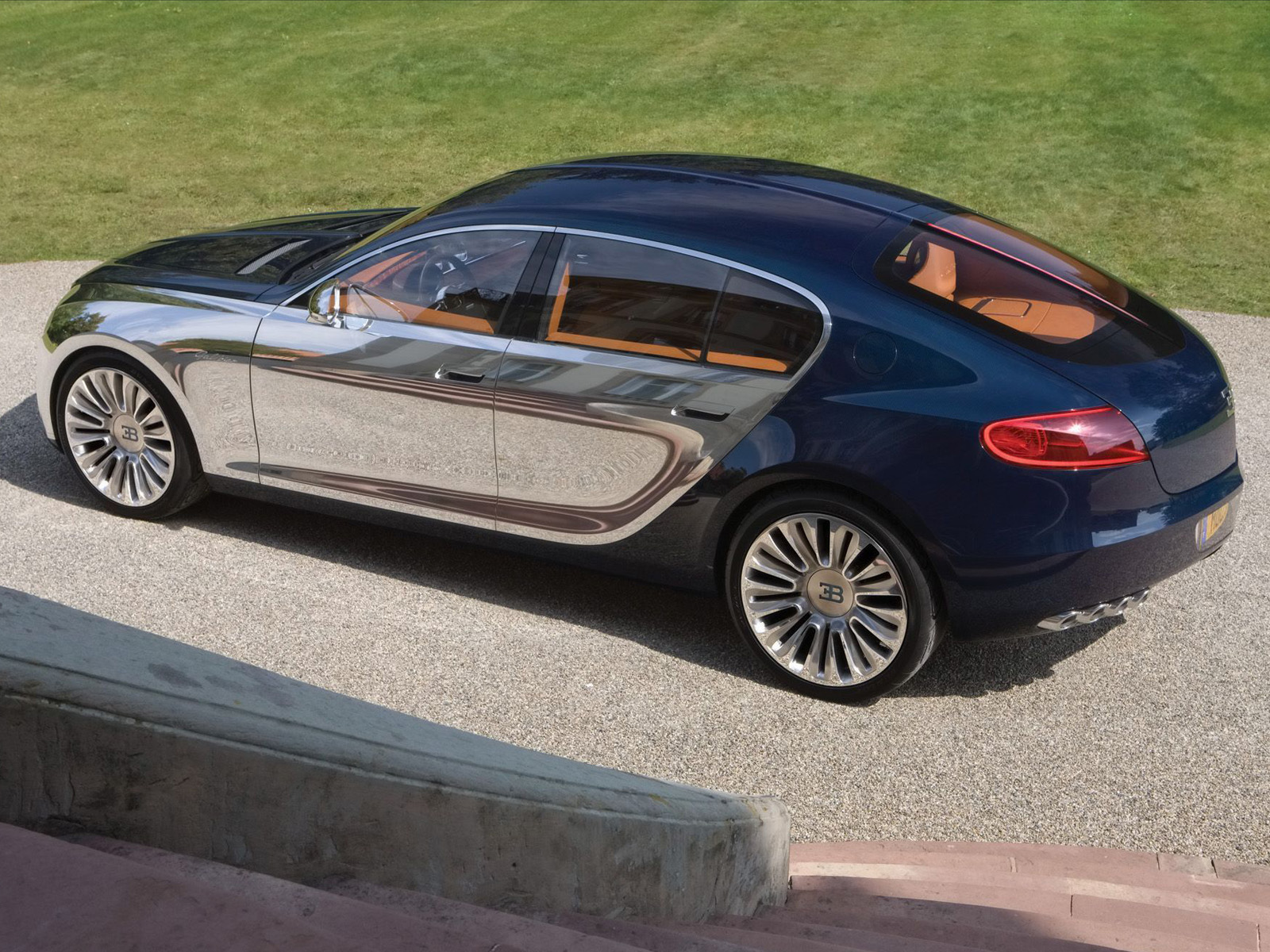 Incroyable Bugatti 16C Galibier