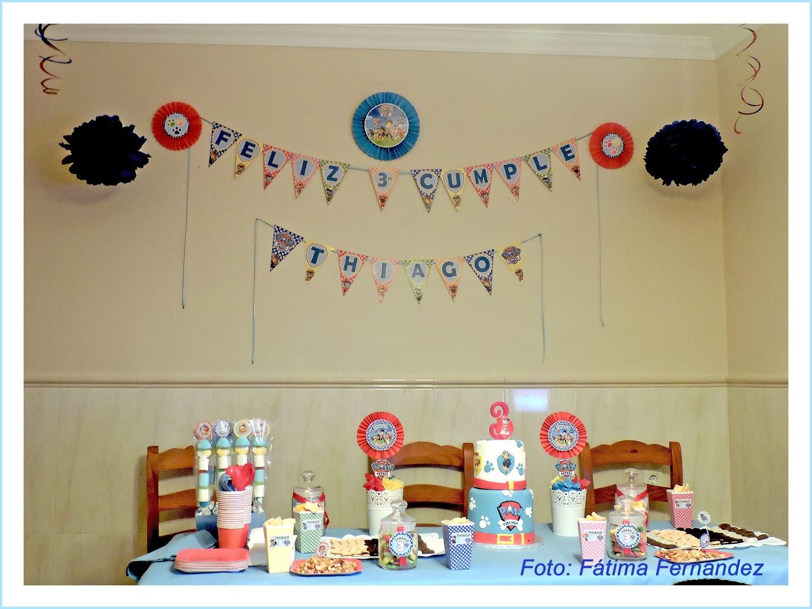 Baby nina fiestas kit de cumplea os patrulla canina para - Mesa patrulla canina ...