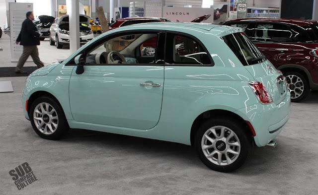 Latte Menta Fiat 500