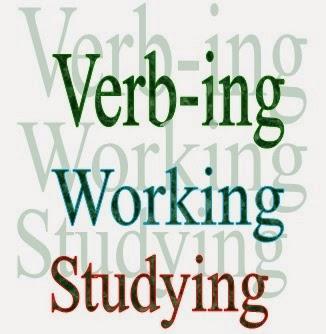 """Gerund adalah penambahan akhiran """"ing"""" pada kata kerja sekaligus"""