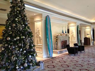Ritz Carlton Laguna Niguel Holiday Surfboard Auction