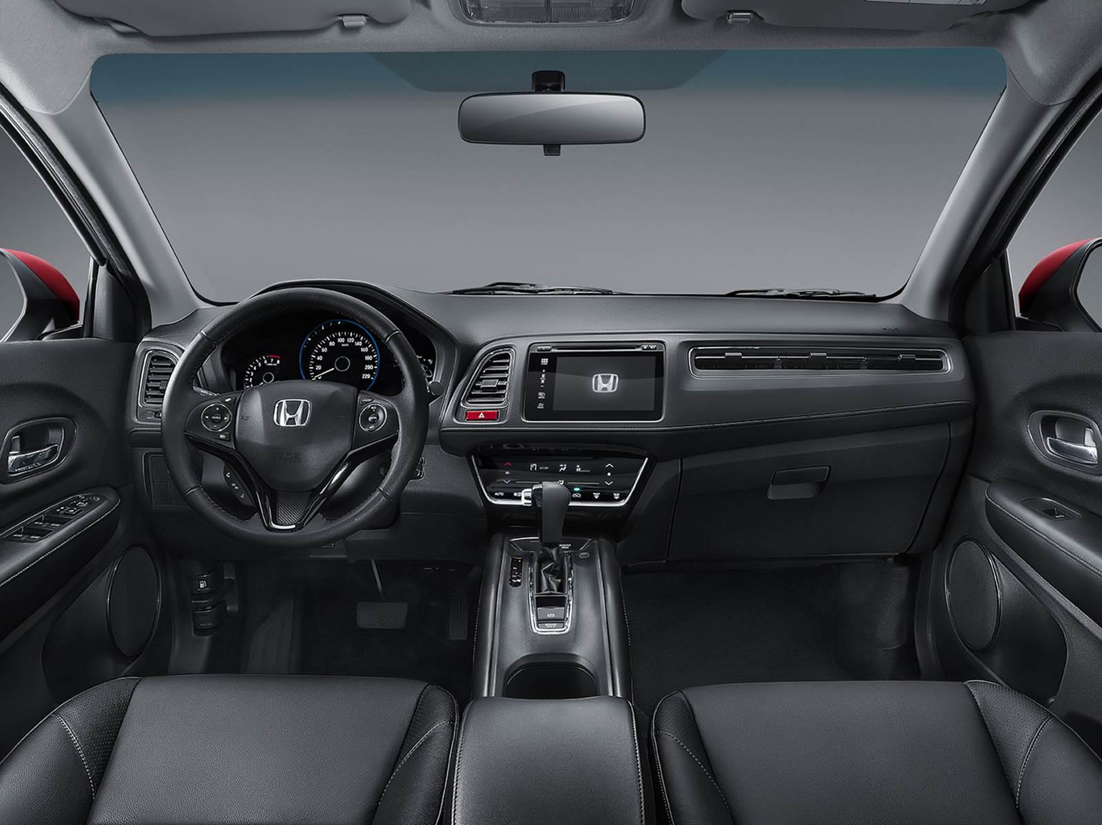 Honda hr v supera ford ecosport em teste comparativo car for Honda hr v interieur