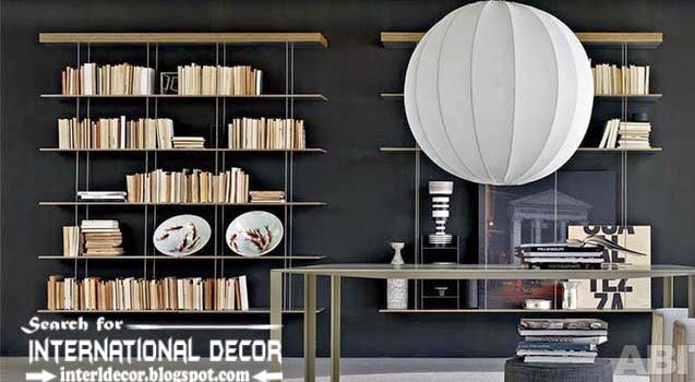 Top 10 modern home library design ideas and organization | Home ...