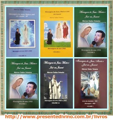 LIVROS DAS APARIÇÕES DE JACAREÍ ★BOOKS OF THE APPARITIONS OF JACAREÍ★