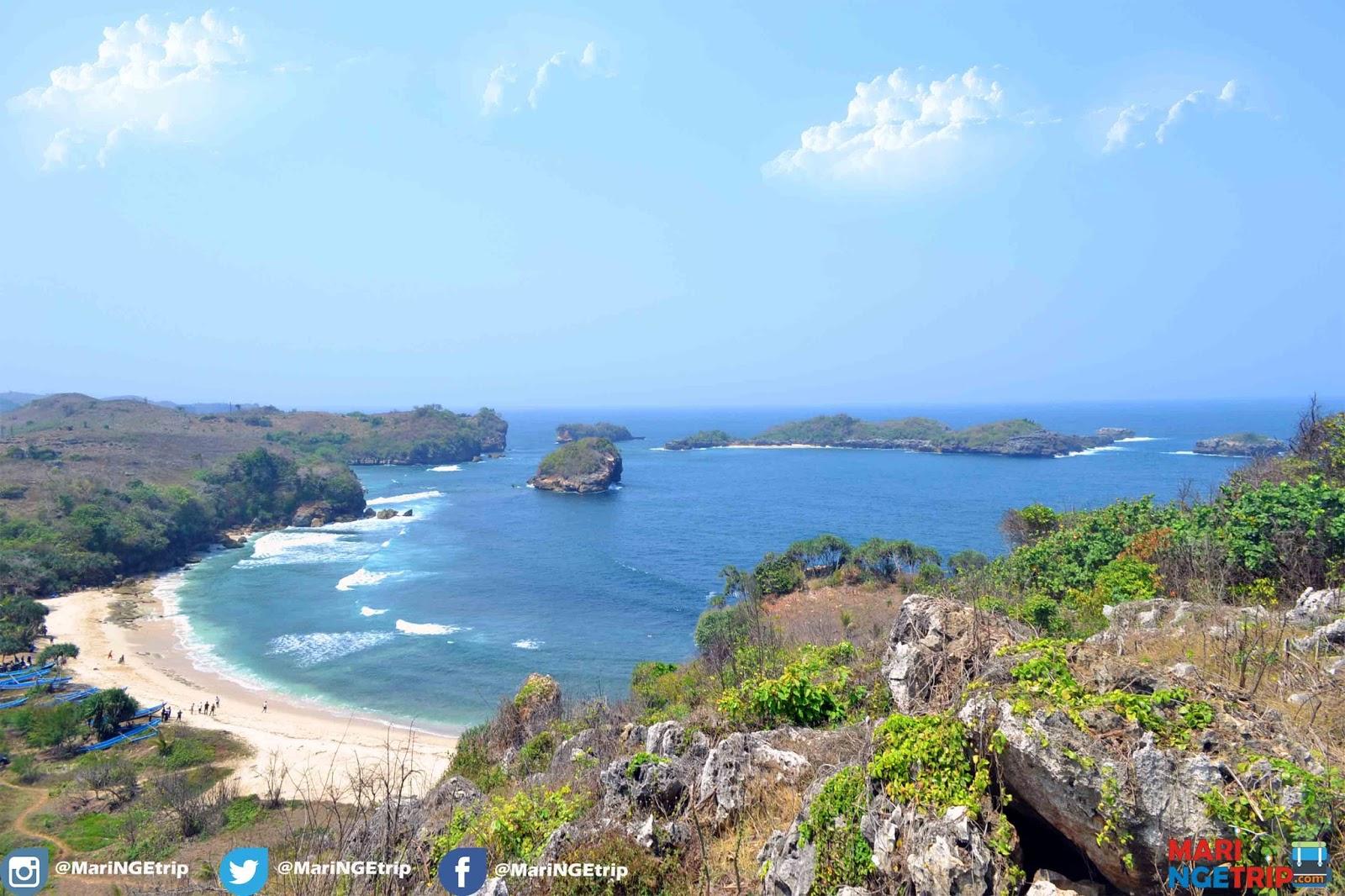 Pantai Peh Pulo Mini Raja Ampat Di Blitar Wisata Indonesia