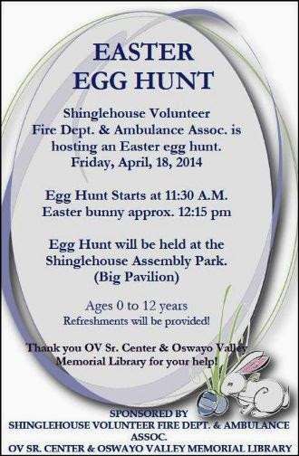 4-18 Easter Egg Hunt-Shinglehouse