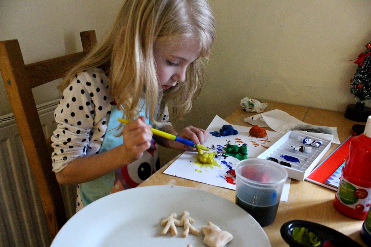 arts and crafts, christmas magic, salt dough decorations, todaymyway.com