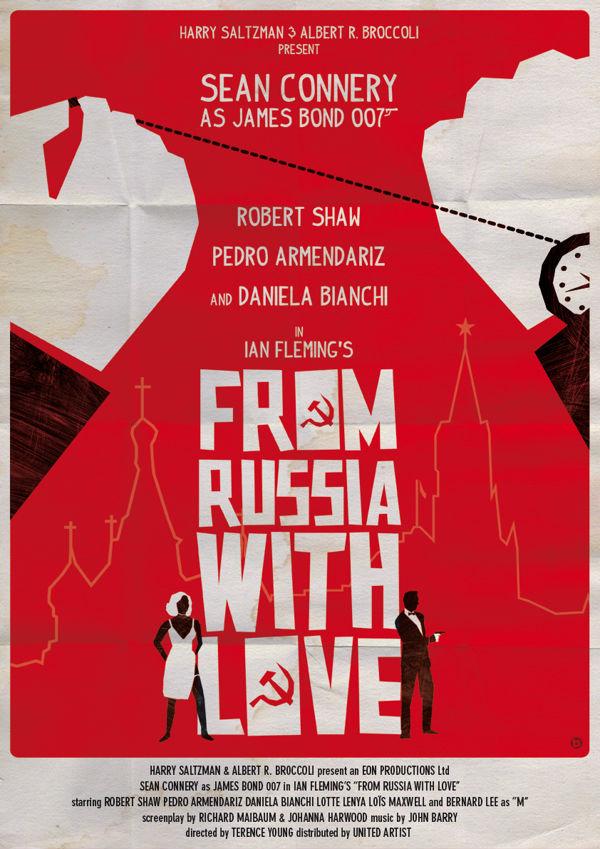 El poster (fanArt) de Spectre la nueva peli de Bond - Alain Bossuyt | James Bond Fan Art Posters