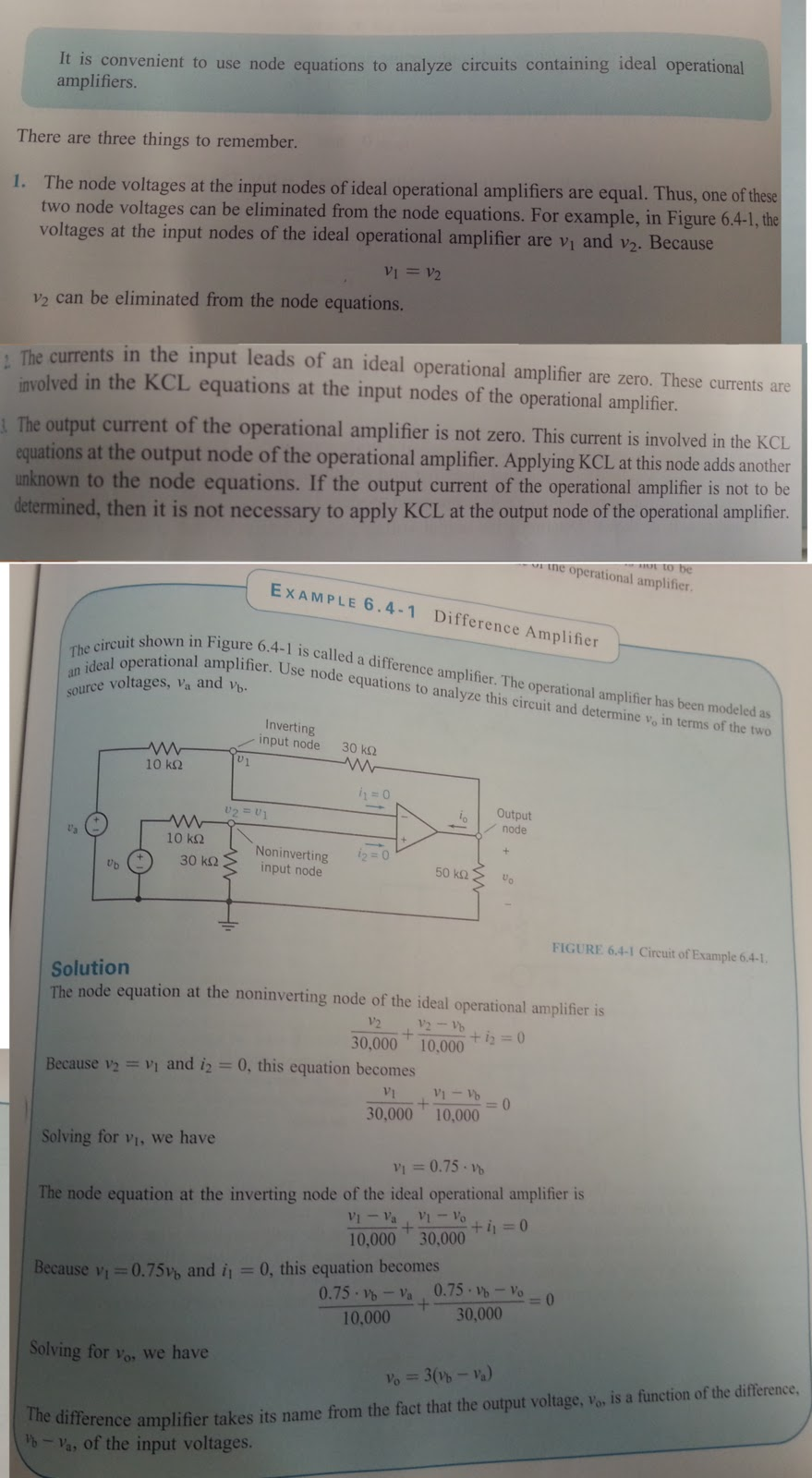 Op Amp Revision Electrical Engineering 3rd Year Ampcircuits Input Output Resistance For Circuits