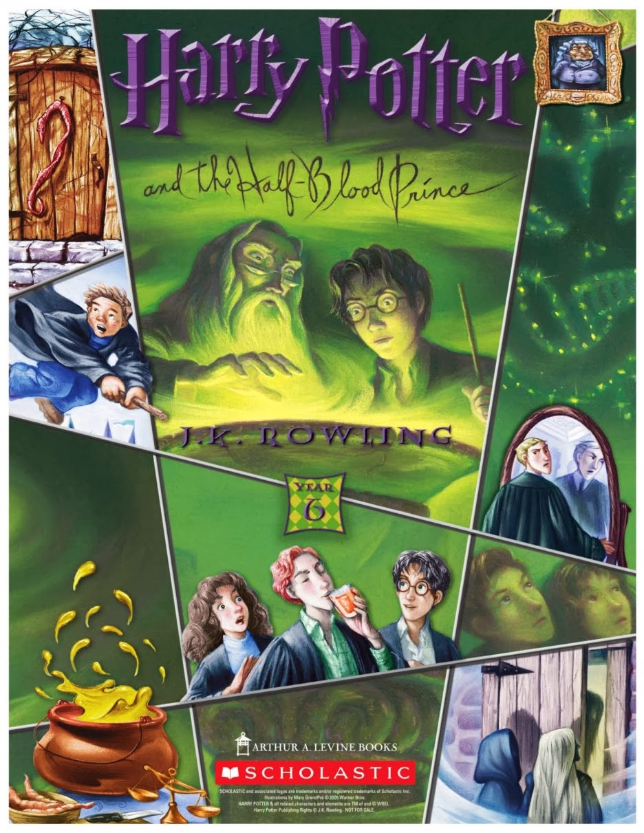 the reader harry potter and the half blood prince by jk