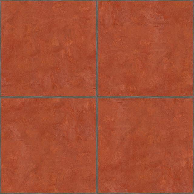 Seamless Terracotta Tiles Maps Texturise Free