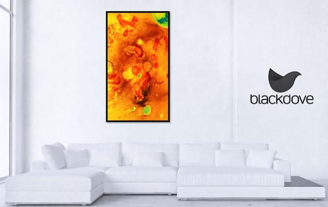 Arte digital de Blackdove en pantallas digitales