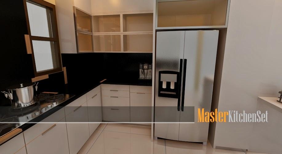 Kitchen set solo blog master putih 2