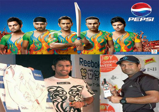 Advertisers opting out from cricketers