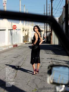 Morena Baccarin For Vanity Fair Italy Magazine, April 2013