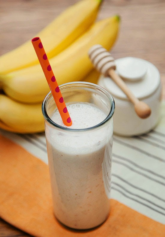 The simple combo of banana, dates, yogurt, honey, ice, and (surprise!) cinnamon, makes a refreshing and tasty concoction, especially for sipping on steamy days