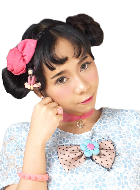 Beauty blogger Indonesia Raden Ayu kawaii japanese makeup